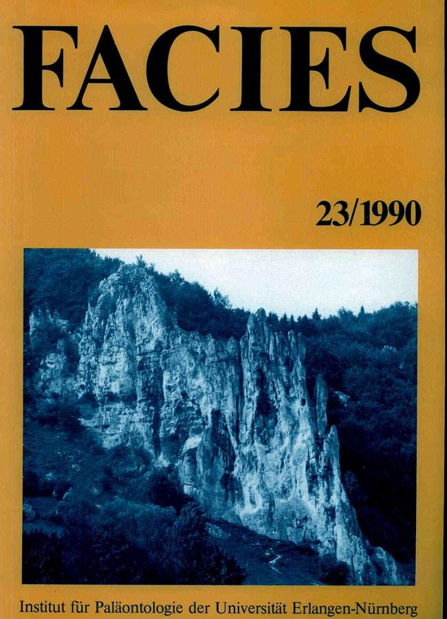 Flügel, Erik, Prof. Dr.: FACIES 23/1990