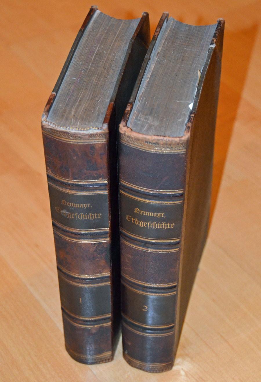 Neumayr, Melchior: Erdgeschichte [in 2 Bänden]