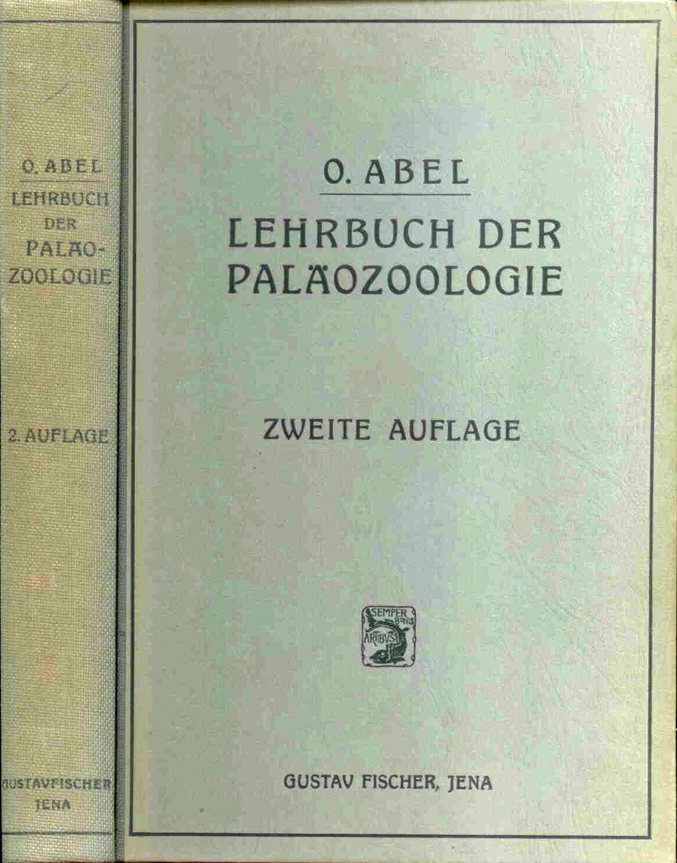 Abel, O.: Lehrbuch der Paläozoologie.