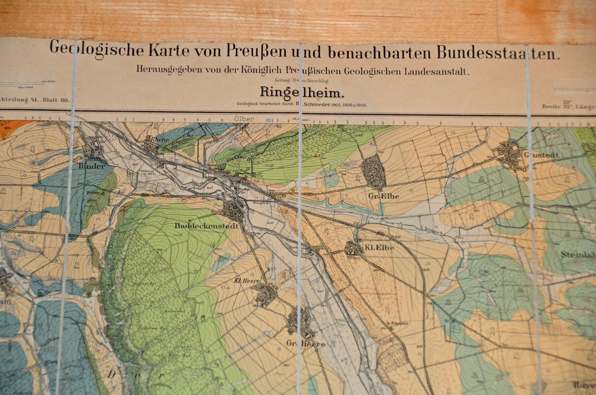 Geologische Karte von Preußen und benachbarten Bundesstaaten, Blatt Ringelheim