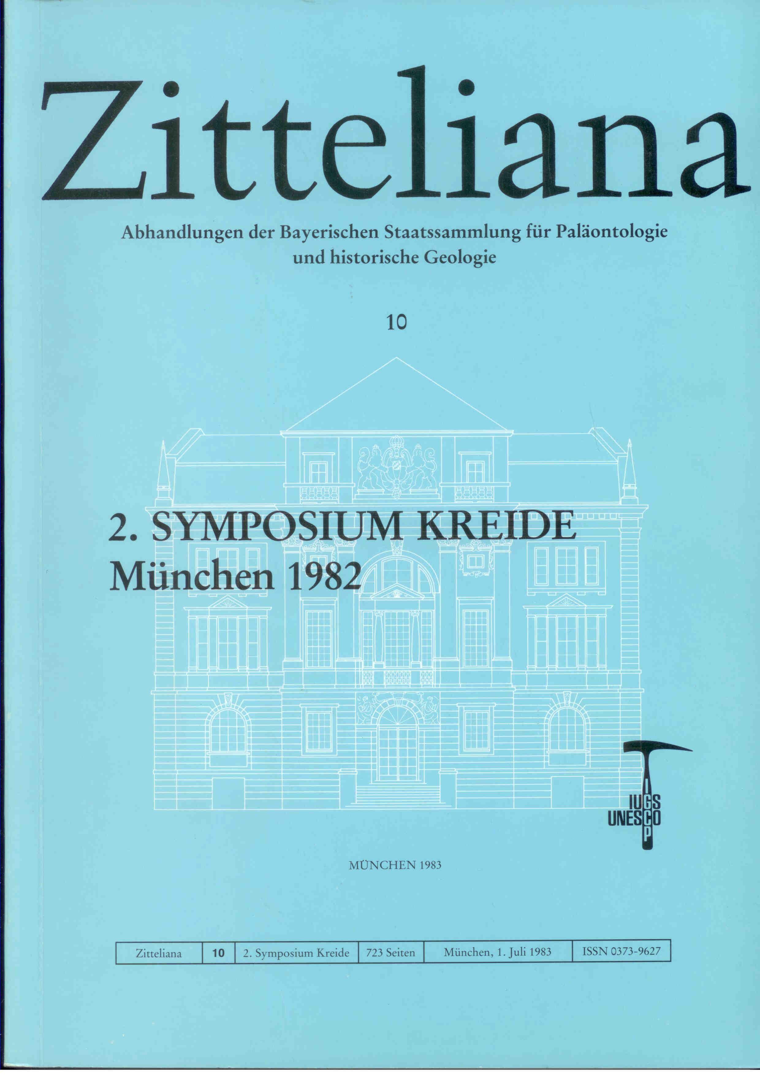 Herm D.: 2. Symposium Kreide München 1982. ZITTELIANA 10