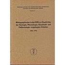 Schmidt, P.: Bibliographie der in der DDR zur Geschichte der Geologie, Mineralogie, Geophysik und Paläontologie vorgelegten Arbeiten 1970-1976
